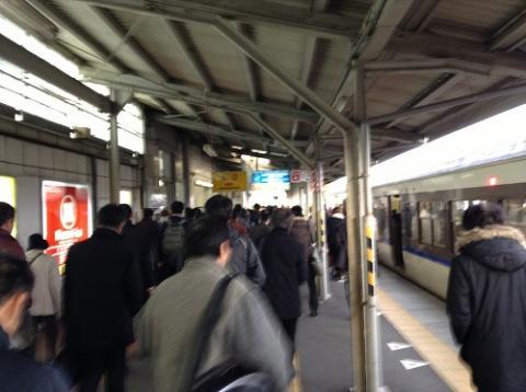 向洋駅 〜通勤ラッシュ時の様子など〜