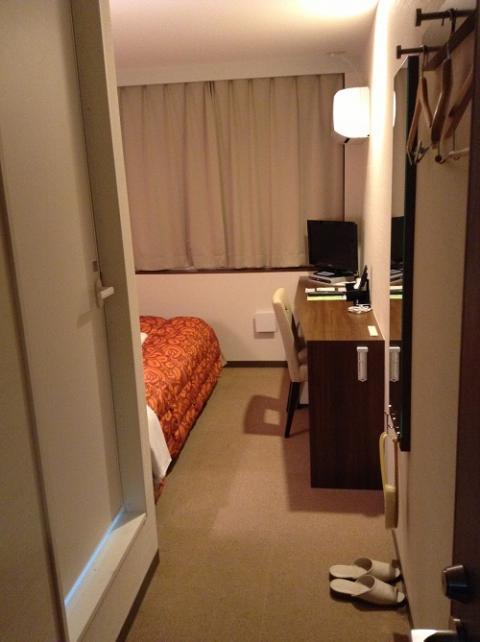 ホテルクドウ大分に宿泊した 〜室内の様子、温泉、朝食など〜