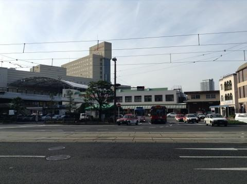長崎駅前で友人を待つ 〜長崎駅前の様子など〜