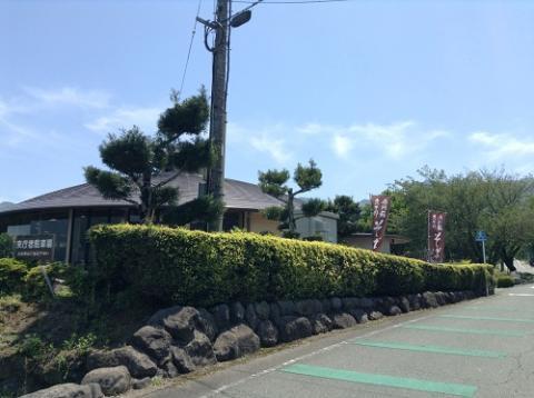 南阿蘇・久木野「そば道場」(熊本県阿蘇郡南阿蘇村河陰149-1)でざるそば大盛りを食べた