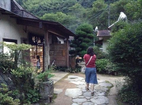 竹山荘で晩御飯を食べ、蛍を鑑賞した/blog/archives/2013/06/chikuzansou_tokutokuteishoku_hotaru.html