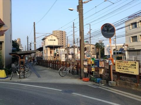 伊予鉄道「土居田駅」 (愛媛県松山市土居田町)
