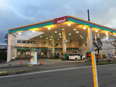 ナヴィ余戸店のガソリンが安い(2015年11月28日)