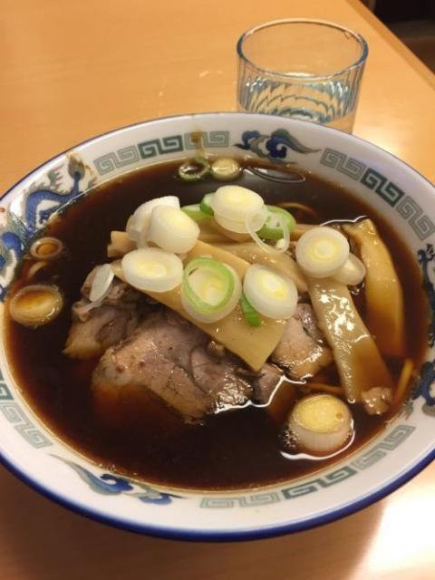 喜八の富山ブラックラーメンを食べた感想