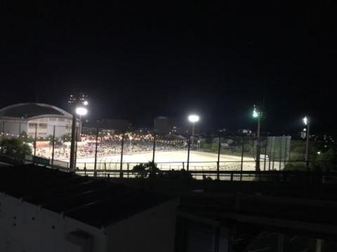 愛媛県伊予郡松前町の花火大会をエミフルMASAKI立体駐車場の屋上から観た感想 - 2017年(平成29年)夏