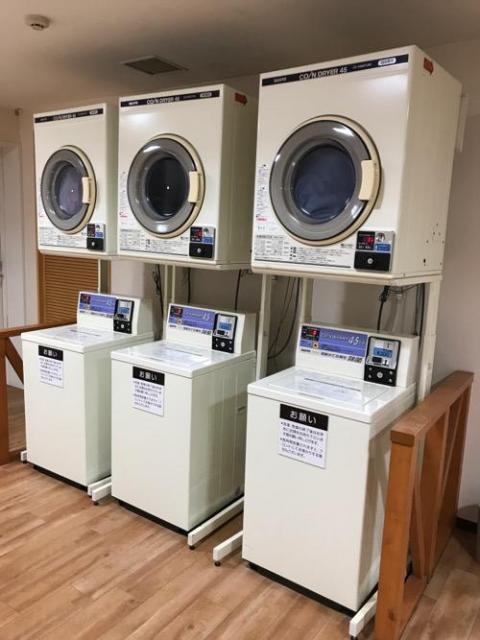 金沢シティホテルのコインランドリーでの洗濯の仕方