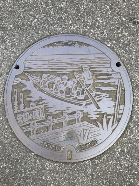 千葉県松戸市のマンホールの蓋