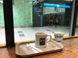 JR大宮駅改札内のカフェ(We CAFFE エキュート大宮店)を利用した感想