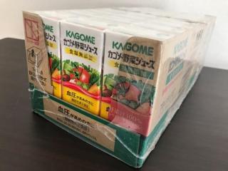 血圧が高めの人向けの激安なカゴメ野菜ジュース24本セットをAmazonで購入した
