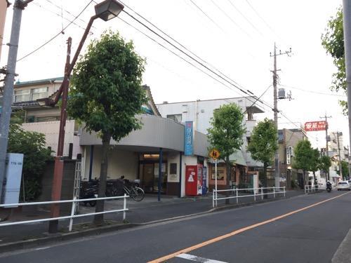 東京都葛飾区の銭湯・日乃出湯周辺の様子