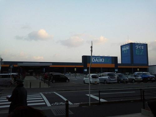 エミフルMASAKI 2014年1月1日初売り時の駐車場の様子(開店70分前)