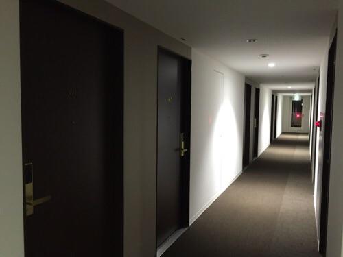 ABホテル名古屋栄(屋内廊下)