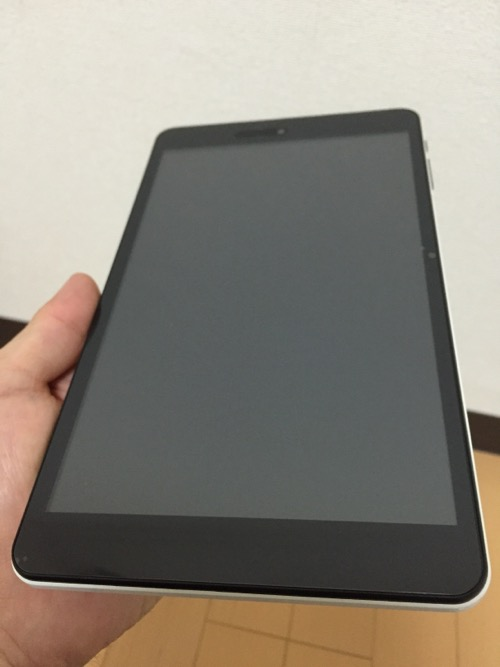 iRULU Walknbook W3Mini 8 JW008(Windows 10タブレット)の液晶画面