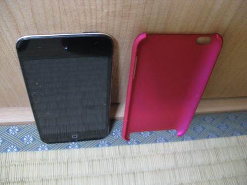 iPod touch(第4世代)とiPod touch(第4世代)用の保護ケース(moshi iGlaze 4 ホットピンク)