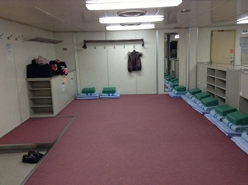 小倉⇔松山フェリー(はやとも2/株式会社フェリーさんふらわあ)の2等船室