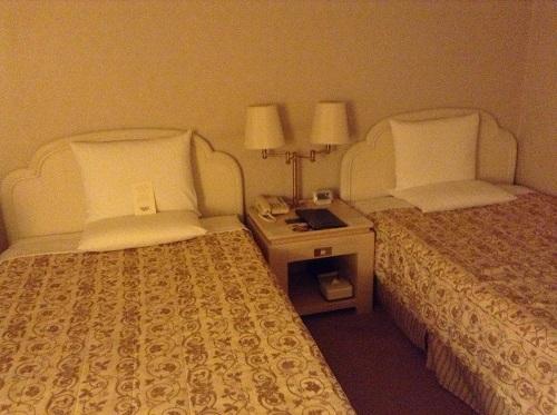 ヨコハマ グランド インターコンチネンタル ホテルのベッド(ツインタイプ)