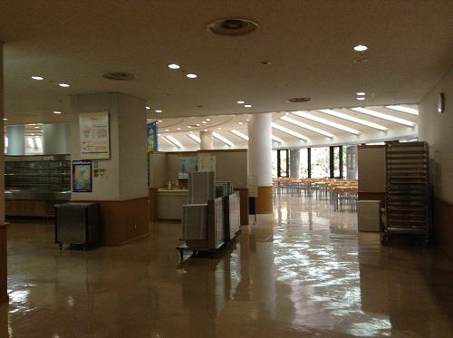 熊本県庁の地下食堂