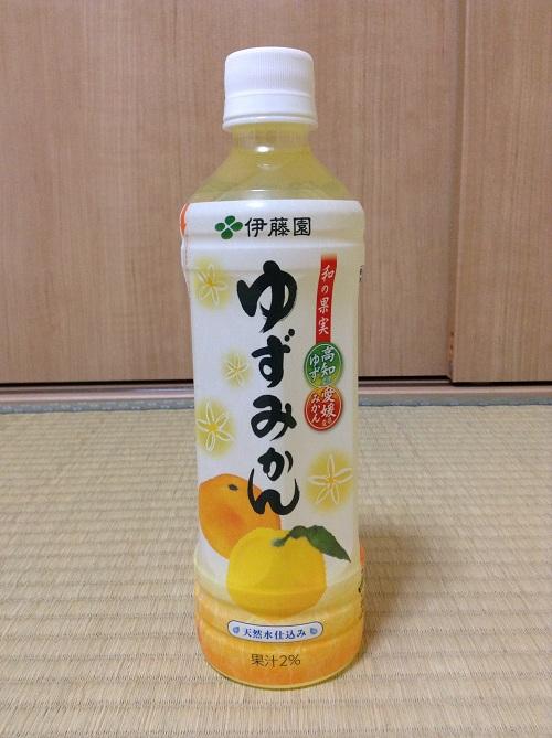 伊藤園「ゆずみかん」(500g/ペットボトル)