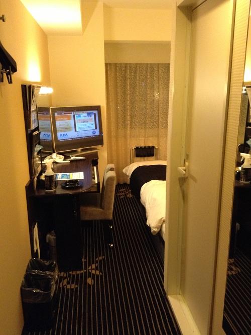 アパヴィラホテル 仙台駅五橋の室内(入り口付近から眺めた様子)