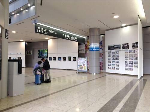 仙台空港の1階