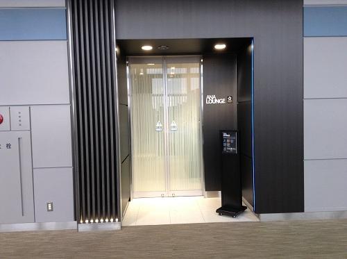 ANA LOUNGE(ラウンジ)の入口