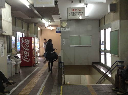 県営バス長崎ターミナルの中にあるトイレ(お手洗い)