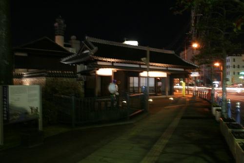 長崎県長崎市・出島・水門