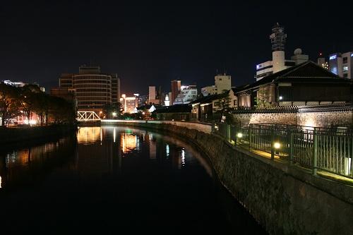 長崎県長崎市・出島・中島川