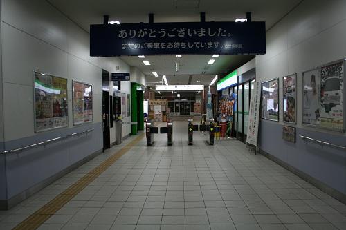 佐世保駅の改札口