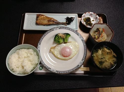 レオプラザホテル佐世保の朝食(和食)