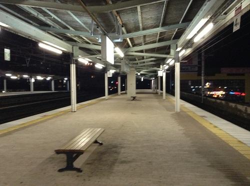 JR別府駅(大分県別府市駅前町)の1番ホーム