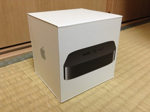 Apple TV MD199J/Aの箱