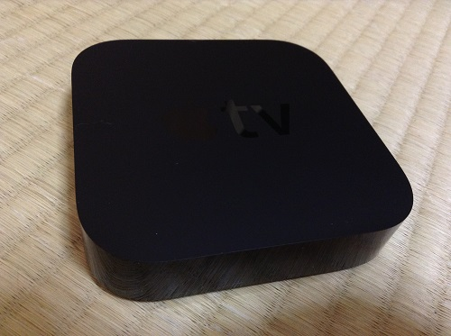 Apple TV MD199J/Aの本体