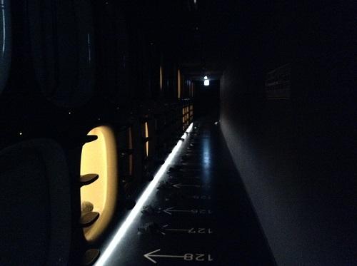 「9h nine hours ナインアワーズ成田空港」(住所:千葉県成田市古込1-1 成田空港内第2旅客ターミナル)のカプセルルーム