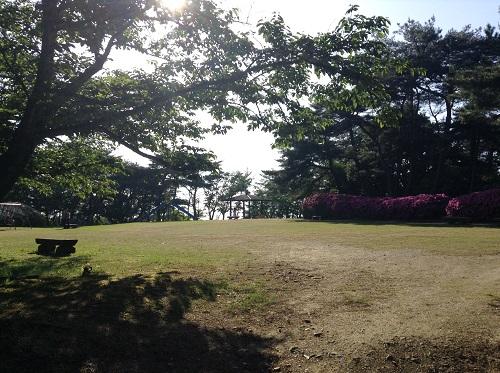 えひめ森林公園 谷上山第2展望台の隣にある公園「自由広場」