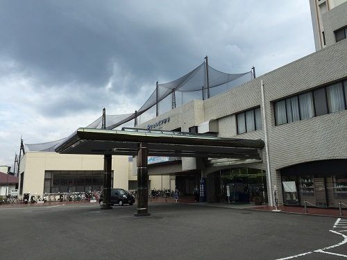 ウェルピア伊予<伊予市都市総合文化施設>(愛媛県伊予市下三谷1761-1)のセンター棟