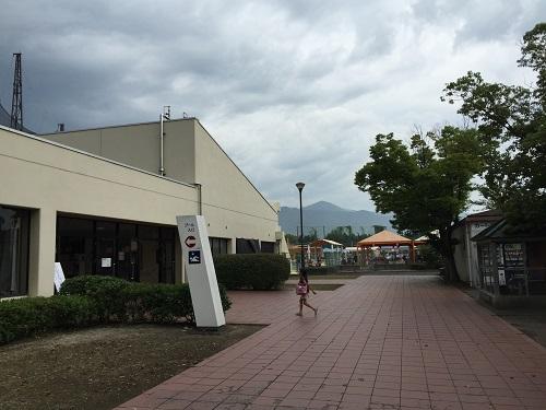 ウェルピア伊予<伊予市都市総合文化施設>(愛媛県伊予市下三谷1761-1)のプール入口