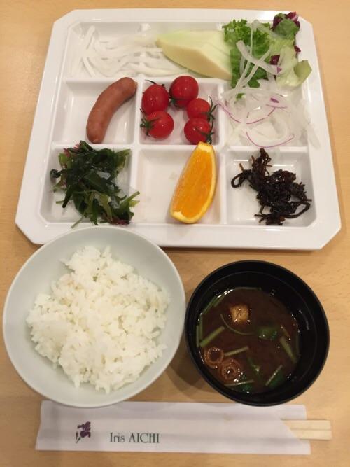アイリス愛知(愛知県名古屋市中区丸の内2-5-10)の朝食