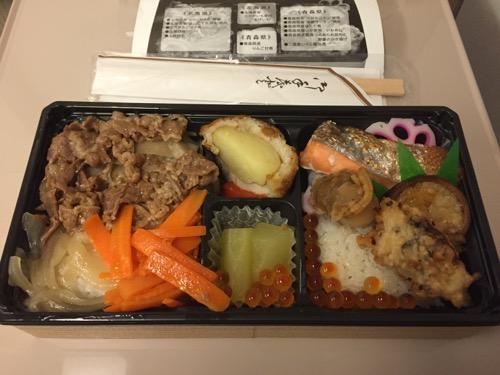 北海道新幹線開業記念 青森・函館弁当の中身
