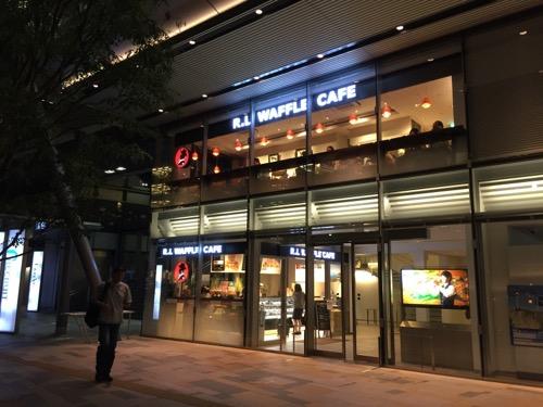 東京駅八重洲南口のR.L WAFFLE CAFEの店舗外観