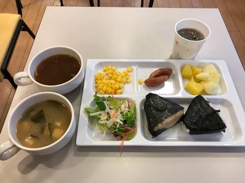 コンフォートホテル新潟駅前の朝食