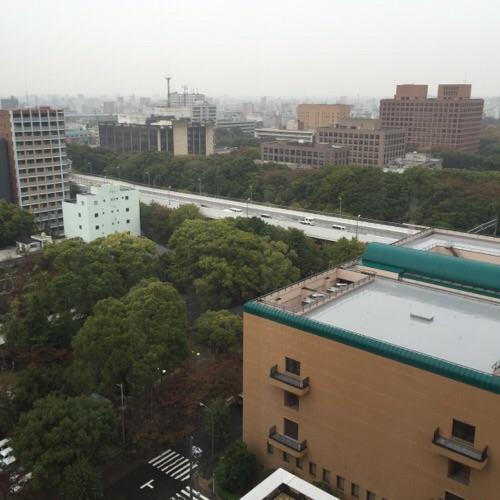アイリス愛知(愛知県名古屋市中区丸の内2-5-10)の部屋の窓からの眺め