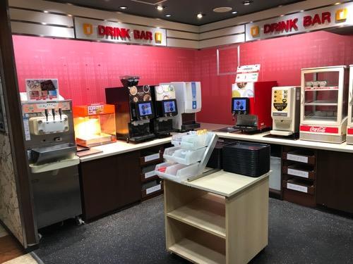 ジョイサウンド金町店のドリンクバー