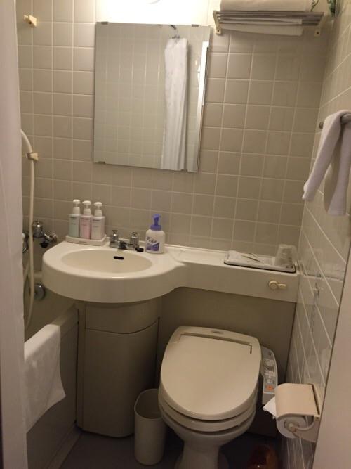 アイリス愛知(愛知県名古屋市中区丸の内2-5-10)のトイレとシャワー付浴室