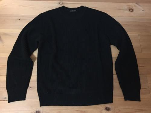 2017年のコムサイズムのメンズMサイズの福袋のセーター