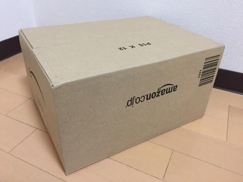 Amazonのダンボール箱(P15 K 12)
