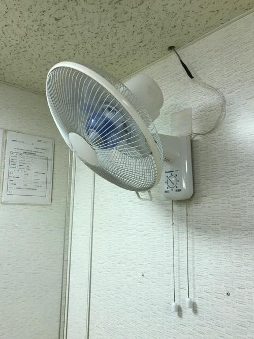 Panasonicの壁掛け扇風機(F-GA301)