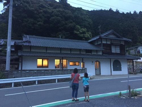 愛媛県東温市河之内のカフェkuroimori(クロイモリ)の外観