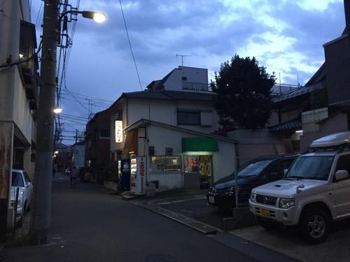 東京都荒川区の銭湯・玉の湯の周辺風景