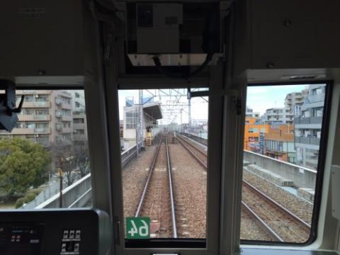 東京メトロ千代田線北綾瀬駅の風景、路線図、運賃表、大晦日終夜運転時刻表(2015年の年末)